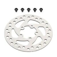 120mm Silver Steel M365 PRO Brake Disc for Electric Scooter w/ 5pcs Screws