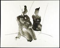 "DDR-Kunst. ""Spiegel"", 1990. Algraphie Gudrun TRENDAFILOV (*1958 D), handsigniert"
