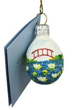 Patricia Breen Miniature Egg Bridge of Sighs Ornament Easter Spring Holiday