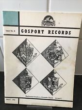 Gosport  Records - Issue No 8 1974 - St George Barracks, Caroline of Gosport etc