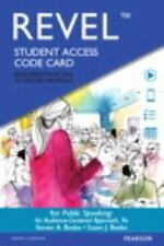 Public Speaking : An Audience-Centered Approach by Steven A. Beebe ACCESS CODE