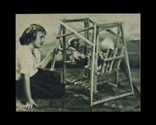 Doll Lawn/Yard Swing & Love Seat 1946 How-To build Plans