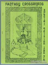 FANTASY CROSSROADS Spc. #1 fanzine REH Gil Kane GENE DAY L. Sprague de Camp 1976