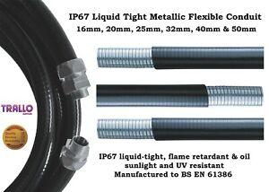 Premium Liquid Tight Flexible Conduit IP67 - Metallic  - 20mm & 25mm