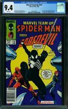 Marvel Team-Up #141 CGC 9.4 1984 Spider-Man! 1st Black Costume with #252! 110 cm