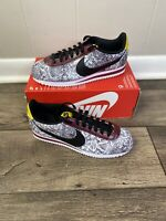 Nike Classic Cortez Leather Snakeskin CT1557 100 Women's Size 8.5