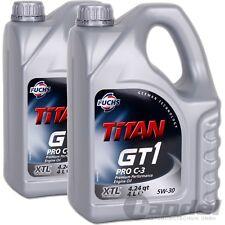 [5,36€/L] 2x4L FUCHS MOTORÖL TITAN GT1 PRO C-3 5W30 LONGLIFE VW 504.00 507.00