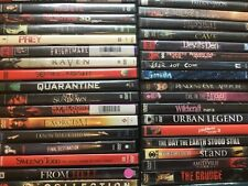 Dvd Pick and Choose From 100's of Halloween, Horror Movies - Combined Shipping