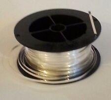".999 Silver Bezel Wire for Colloidal Silver Generator: 1M (Meter) (3' 4"" / 40"")"
