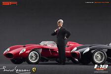 1/18 Enzo Ferrari black suit VERY RARE!!! figures for1:18 CMC Exoto Autoart