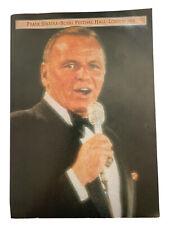 **FRANK SINATRA ROYAL FESTIVAL HALL 1978 LONDON PROGRAMME TOUR BOOK - VGC**