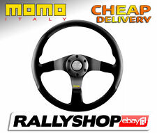 Momo TUNER Anthracite Steering Wheel CHEAP DELIVERY WORLDWIDE race rally 350 mm