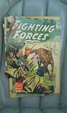 Our fighting forces 58 dc war comics golden age fair 1.0 condition rare