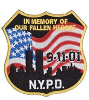 NYPD 9/11 PATCH