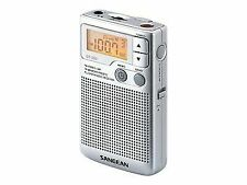 Sangean DT-250 AM/FM Pocket Radio - Silver