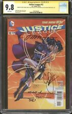 Justice League #12 CGC 9.8 SS Signed Geoff Johns, Jim Lee, Finch, Williams, +1