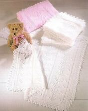 Baby Knitting Pattern  SHAWLS copy 3 & 8 ply Gorgeous Lacy Shawls