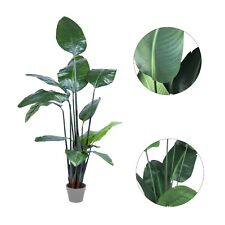 Large Faux Artificial Home Decor Potted Bird of Paradise Plant 150cm