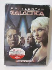 Battlestar Galactica Season Three DVD Box Set New Factory Sealed Science Fiction