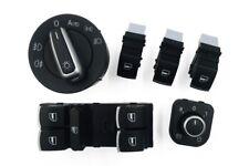 Set Lote Interruptor interruptor Elevalunas Luces Retrovisor VW GOLF 5 6 gti