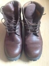 TIMBERLAND LEATHER BOOTS SIZE 12