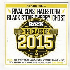 (GL353) Various Artists, Classic Rock Presents The Class Of 2015 - CD