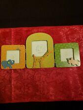 1999 Carter's John Lennon Real Love Imagine Tri-Fold Nursery Wooden Photo Frame