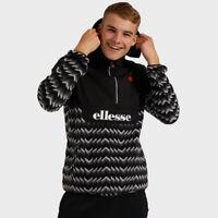 Ellesse Freccia Fleece OH Hooded Jacket - Black