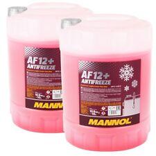 Kühlerfrostschutz Rot G12+ 2x10 Liter Mannol Antifreeze AF12+ -40°C Kühlmittel