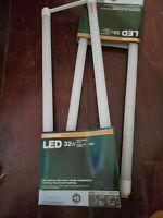 "Lot of (2) SYLVANIA 15-Watt T8 U-Bend LED Light Bulb 4100K 1"" diam. 6"" 046135750"