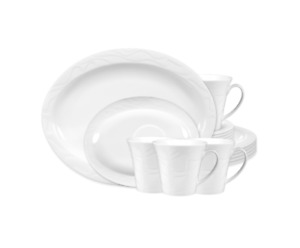 Seltmann Weiden ALLEGRO weiß 003 uni Komplettservice Kaffeeservice NEU 18 Tlg.