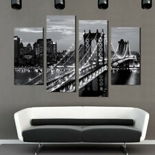 Puente de Nueva York Abstracto Cuadro De Pared Decoración Sin Enmarcar