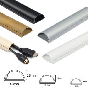 D Line Self Adhesive Trunking Electrical Cable Conduit Wire Channel Dline PVC