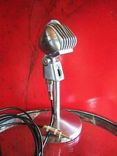 Vintage RARE 1950's Turner S33D dynamic microphone old midcentury w 7 ft cable