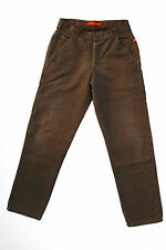 RICA LEWIS JEANS WORKER LADIES Brown Trousers Pants I50 W32 UK14 Baggy
