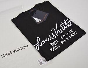 Authentic Louis Vuitton T-shirt Black size Small