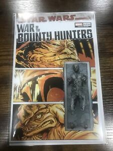 Star Wars War of the Bounty Hunters Alpha 1 * NM+ * Paolo Villanelli Variant COA