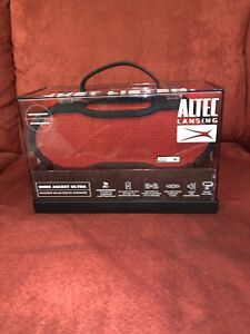 Altec Lansing Omni Jacket Ultra Rugged Bluetooth Speaker red IMW778 only red