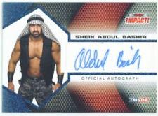"""SHEIK ABDUL BASHIR """"AUTOGRAPH CARD #03/25"""" TNA IMPACT 2009"""