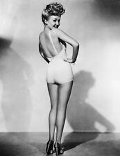 New 8x11 Photo: Betty Grable and her Legs - Famous Pin Up Girl of World War II