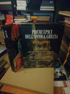 poemi epici dell antica Grecia Iliade e odissea mondadori
