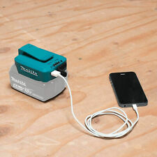 Makita 18 V Li-Ion USB Adapter Charger Belt Clip for Mobile Phone Tablet Battery