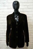 AMERIGO VESPUCCI Blazer Cappotto Donna Taglia M Giacca Cotone Jacket Women