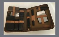 Vintage Men's Toiletry/Grooming Kit - Leather Bound * Read Description *