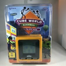 New RADICA Cube World Block Bash Hand Held Electronic Game 2007 Unopened
