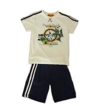 Conjuntos niño de Kemaku, pantalones cortos y camisetas , azul ,talla 3