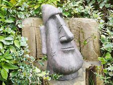Tall Easter Island Head Garden Ornament Statue Tiki Abstract Maoi Sculpture New