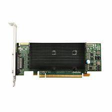 Matrox M9140 LP PCIe x16 512MB Quadhead RoHS Weee E512LAF Graphic Card.4 Monitor