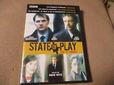 """COFFRET 2 DVD """"STATE OF PLAY - JEUX DE POUVOIR"""" David MORRISSEY / David YATES"""