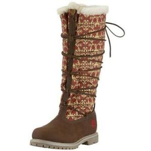 Timberland Ladies Boots Limited Edition Global Journeys Nordic Fur US 7M UK 5